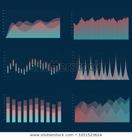 échelles statistiques montée échelle travaux Finance Photo stock © alphaspirit