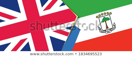 United Kingdom and Equatorial Guinea Flags Stock photo © Istanbul2009