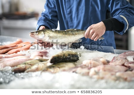 poissons · magasin · alimentaire - photo stock © adrenalina