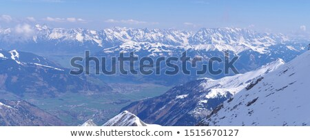 путь снега покрытый зима лес небе Сток-фото © skylight