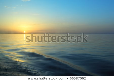 beautiful sunset under river stock photo © imaster