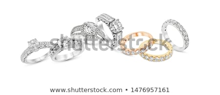 Diamentów refleksji czarny diament Zdjęcia stock © Arsgera