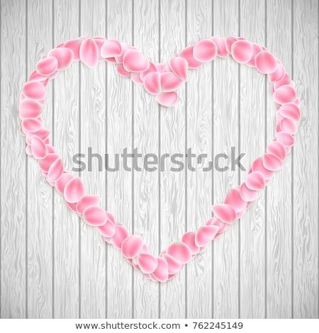 renkli · gül · kalp · sevmek · ışık - stok fotoğraf © beholdereye