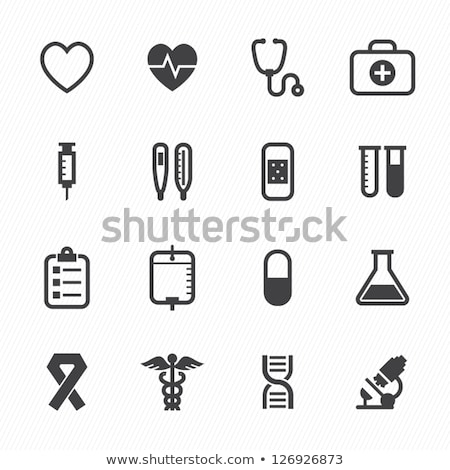 vector symbol of medical  stethoscope Stock photo © freesoulproduction