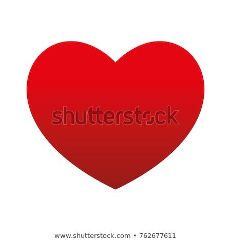 красный · формы · сердца · клавиатура - Сток-фото © dmitroza