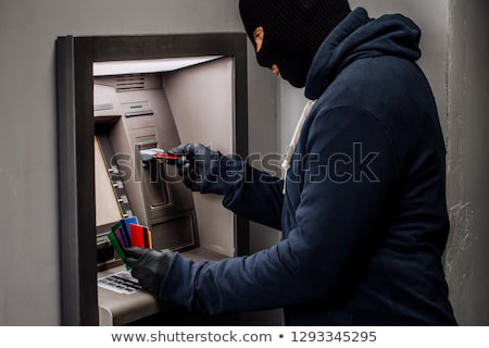 Bank safe with tools for hacking Stock photo © jossdiim