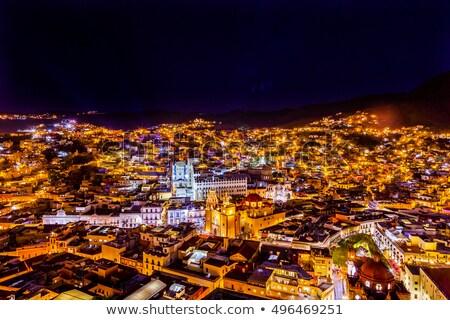 Basilica Templo De La Compania Guanajuato Mexico Stock photo © billperry