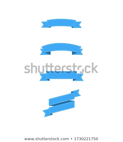 Empty ribbons Stock photo © bluering
