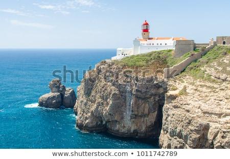 Маяк юг Португалия регион святой континентальный Сток-фото © compuinfoto