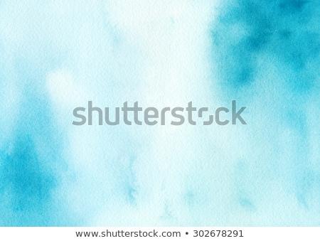 aquarel · roze · textuur · geschilderd · lichtblauw - stockfoto © mcherevan