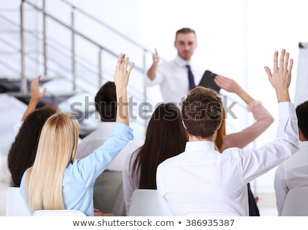 Business suggestion for work problems Stock photo © alphaspirit
