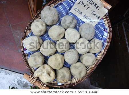 Stock photo: Unopened geodes for sale