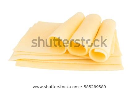 ломтик сыра белый продовольствие свежие Сток-фото © Digifoodstock