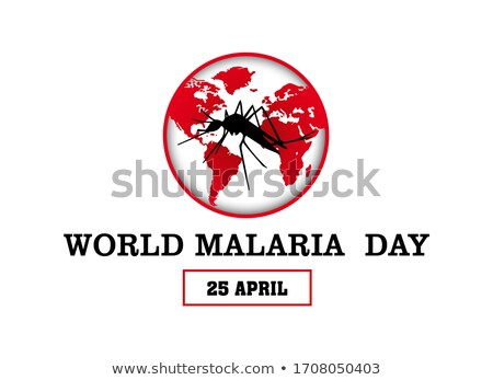25 April Malaria Day Stock photo © Olena