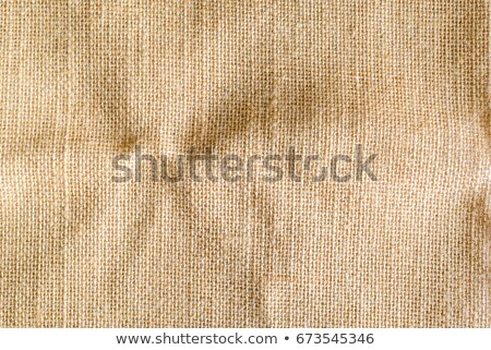 wrinkled Hessian sack cloth or gunny sack Stock photo © milsiart