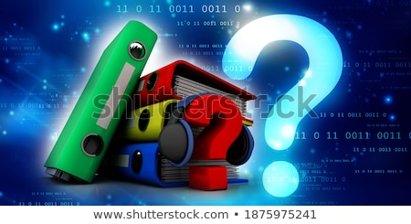 Folder in Catalog Marked as Business. Stock photo © tashatuvango