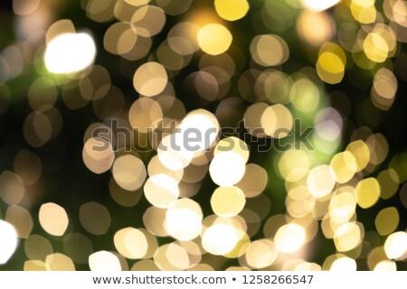Stockfoto: Abstract · wazig · kleurrijk · cirkels · bokeh · christmas