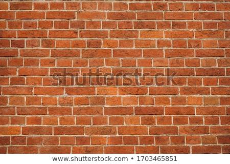 старые разрушенный красный кирпичная стена текстуры сломанной Сток-фото © romvo