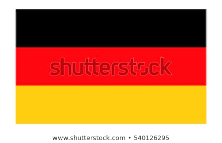 illustration of German flag Stock photo © ssuaphoto