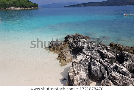 Mer côte sud Albanie Photo stock © travelphotography