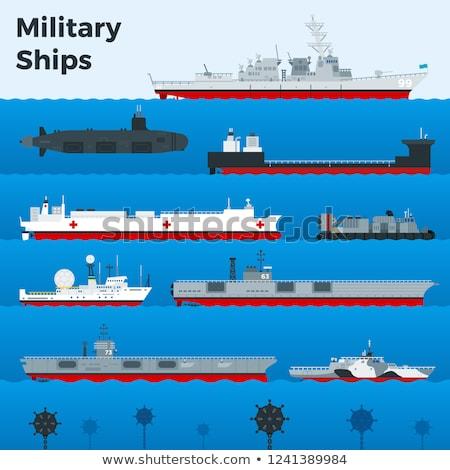 Naval mine vector illustration Stock photo © m_pavlov