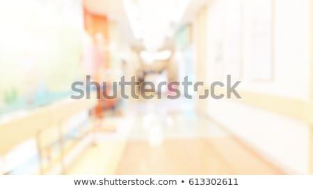 Malati bambini vedere medico illustrazione Foto d'archivio © bluering