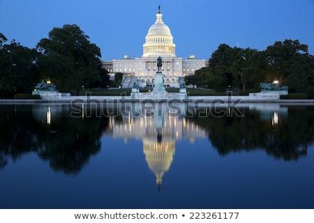 Соединенные Штаты Правительство законодательство федеральный прав символ Сток-фото © Lightsource