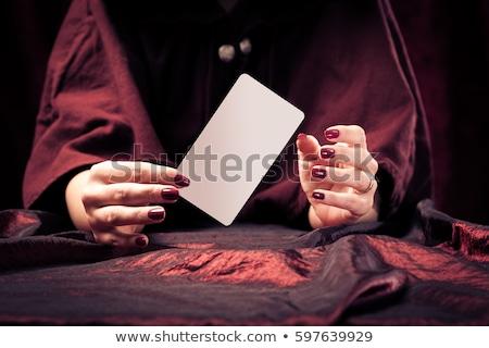 Woman fortune teller Gypsy Stock photo © studiostoks