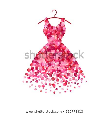 エレガントな · モデル · 着用 · ファッション · ドレス · ヘアスタイル - ストックフォト © RAStudio