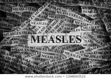 Measles Concept Stock photo © Lightsource