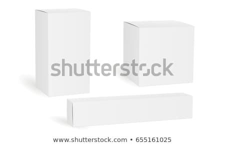 упаковка прямоугольный квадратный долго доставки Сток-фото © robuart