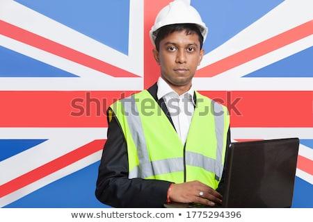 Britannico maschio imprenditore bandiera Regno Unito business Foto d'archivio © lunamarina