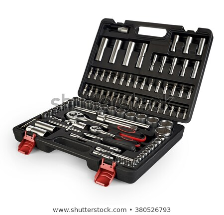 Handtool kit Stock photo © pressmaster