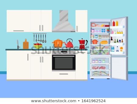 Huis grafisch ontwerp sjabloon vector geïsoleerd illustratie Stockfoto © haris99