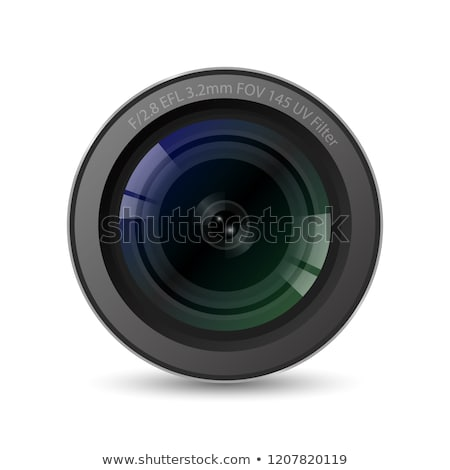 Realistic High Quality Camera Photo Lens Vector Stock photo © pikepicture