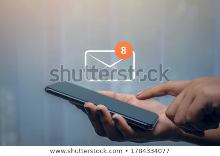 Messaging in office Stock photo © pressmaster