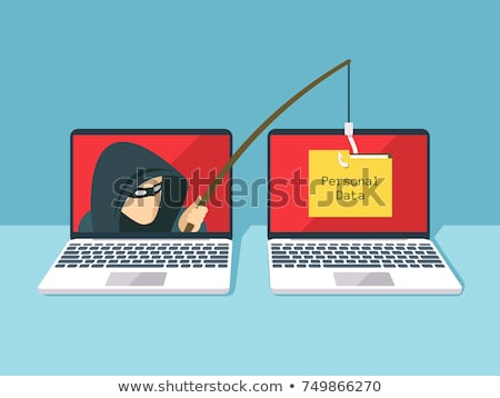 Phishing scams concept. Stock photo © szefei