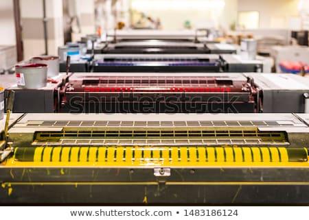 печати Top мнение объект бумаги технологий Сток-фото © unkreatives