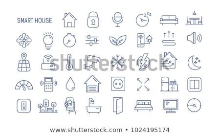 Verwarming koeling collectie vector dun Stockfoto © pikepicture