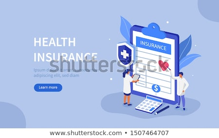 medical insurance services concept stock photo © -talex-