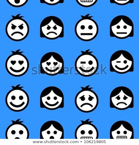 avatar · mundo · pessoas · ícones · cara - foto stock © cienpies