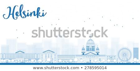 Панорама старый город Хельсинки Финляндия дерево Сток-фото © ShustrikS