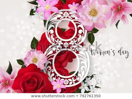 feliz · dia · das · mães · cartão · eps · vetor · arquivo · abstrato - foto stock © beholdereye