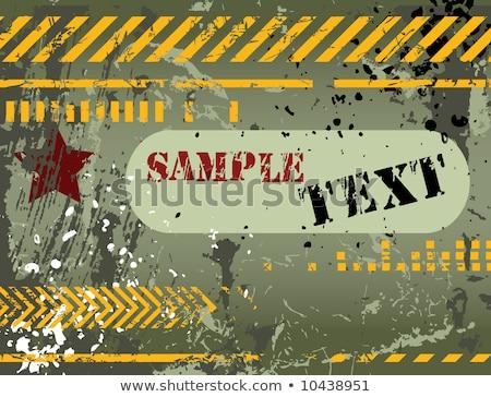Army / navy / grunge background Stock photo © orson