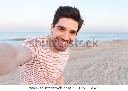Hot guy outdoors Stock photo © curaphotography