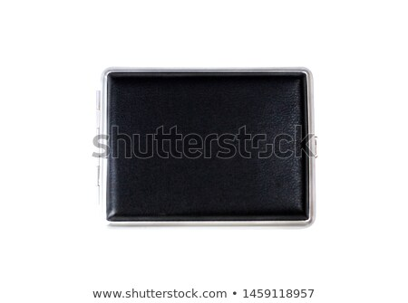 Empty business card with diary and card holder Stock photo © artjazz