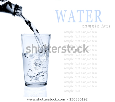 Chilled Water in Glass Stock photo © ferdie2551