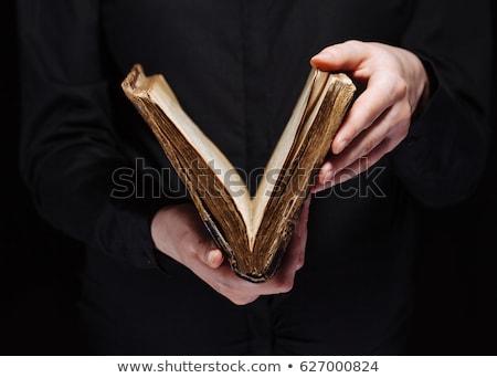 Biblia · centrado · palabra · Jesús · rojo - foto stock © taigi