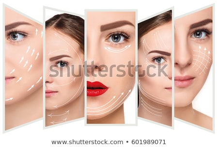 collage of a beautiful woman stock photo © photography33