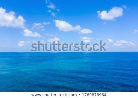 água horizonte lago Balaton Hungria céu Foto stock © samsem